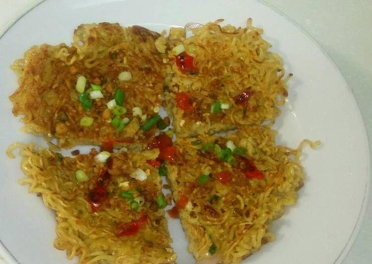 Resep Martabak Mie Telor Omelet Oleh Mia Shary Resep Telor Saus Sambal Adonan