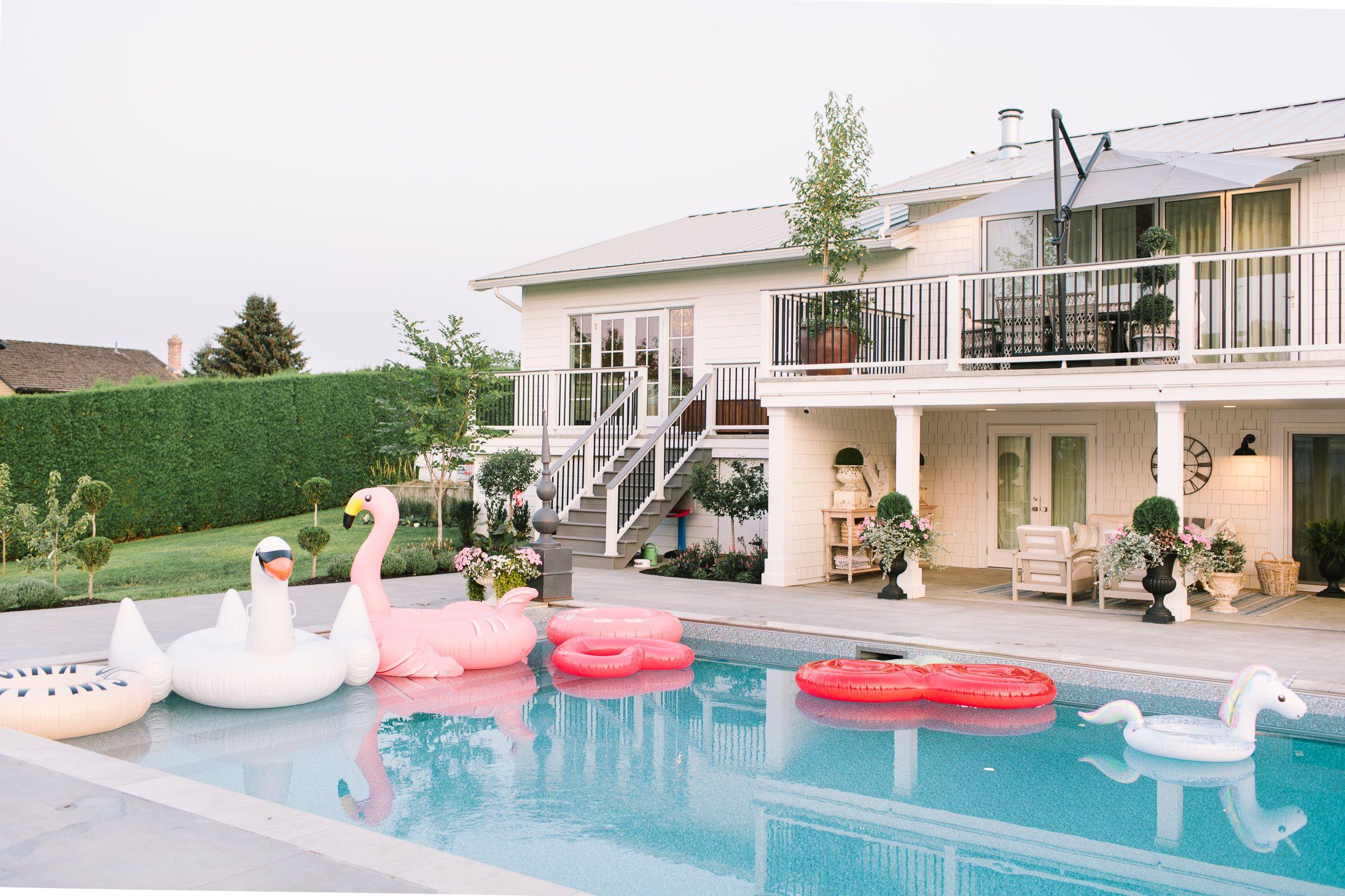 Summer Sunshine: Our Pool Details Delivered
