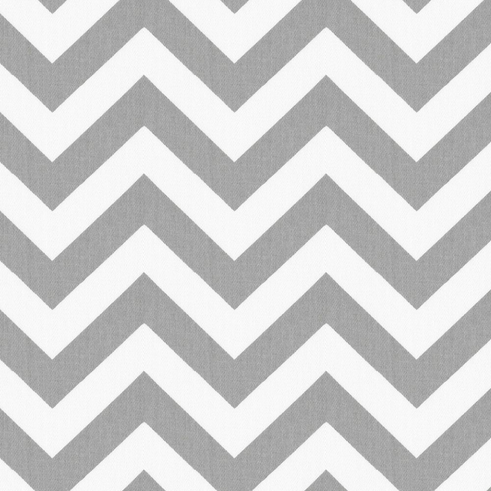 White and Gray Zig Zag Fabric by the Yard | Zig zag, Yards and ...