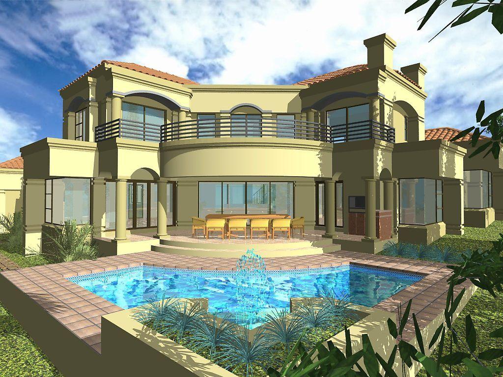 تصاميم فلل جبلية مخططات راقية فلل فيلات بتصاميم تهبل رسومات تصميم فلل دورين مميز Home Design Plans House Design My Dream Home