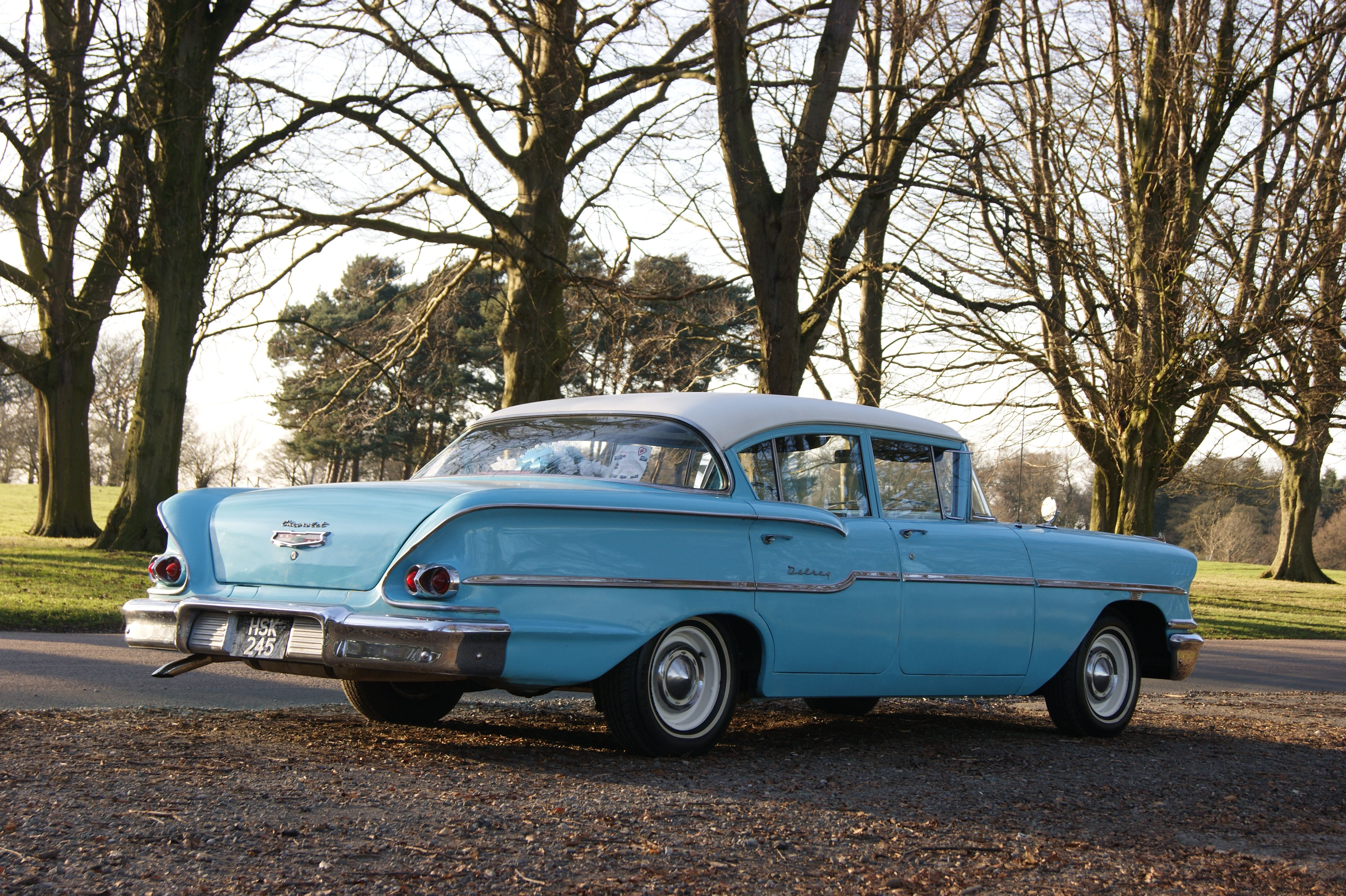My 1958 Chevy Delray 235cu small block straight 6 My first American ...