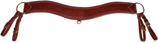 Trail / Roper Breast Collar-Harness Leather-3 Choices-Same Price