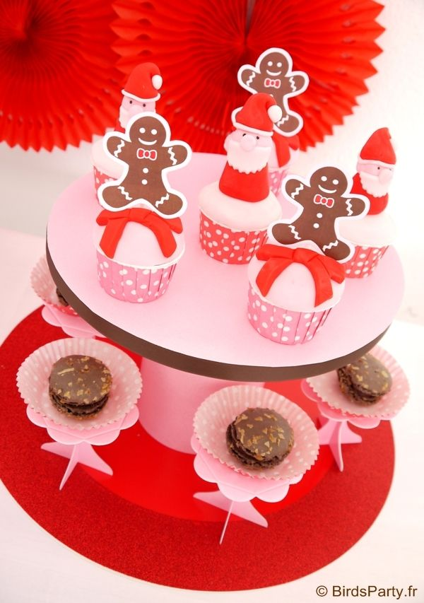 Christmas candyland and gingerbread men cupcakes and desserts   #Christmas #dessertstable #candyland