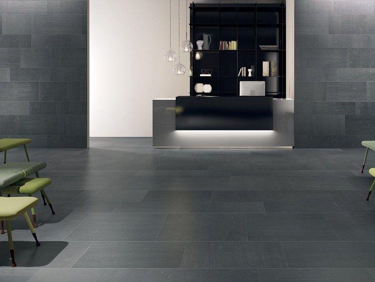 Pavimento rivestimento per interni back anthracite by ceramiche