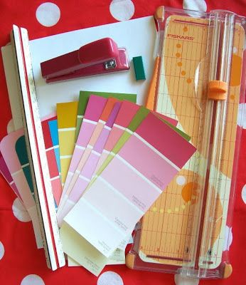 Whimsy Love Paint Sample Notebook Tutorial  Pen Pal Ideas