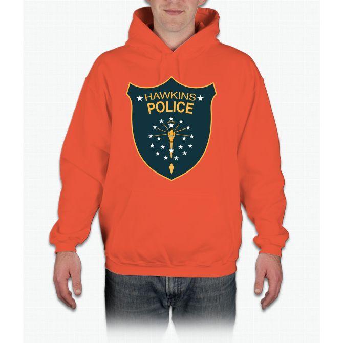 Hawkins Police Stranger Things Hoodie