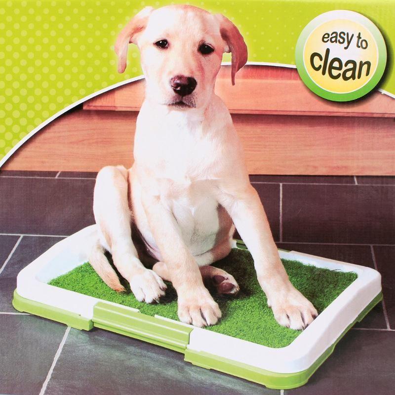 1 Pc Plastic Training Tray Toilet Mat Dog Training Supplies Potty