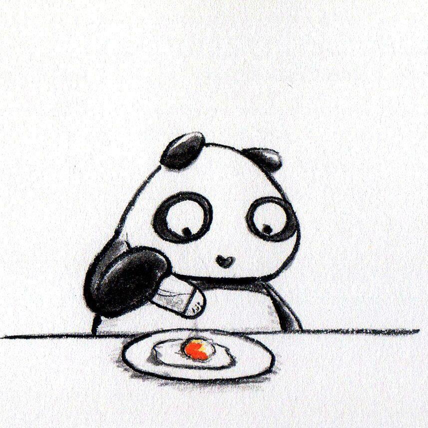 【一日一パンダ】 2014.7.12 塩分を摂りすぎると腎臓は塩分を濾過しようとして水分が必要なんだって。 喉が渇く原因だね。 そして大量に水分を摂ると血圧が上がるんだってさ。 でも今からの季節は塩分も特に大切だからね。