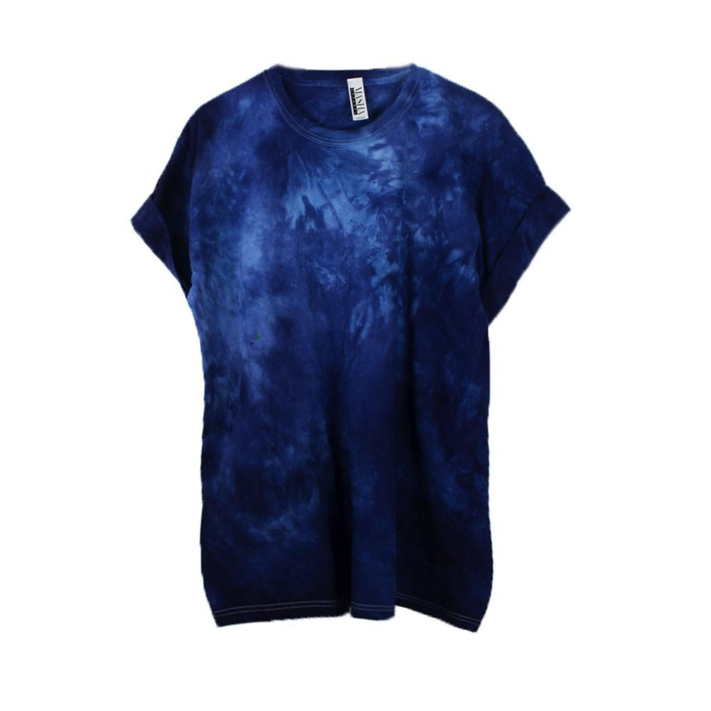 9a59a661e51b Super Dark Navy Tie Dye T-Shirt in 2019 | T-Shirts | Blue tie dye ...