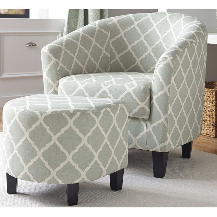 Shop Birch Lane For Traditional And Farmhouse Accent Chairs To Match Every Style And Budget Upholstered Accent Chairs Fabric Accent Chair Chair And Ottoman Set