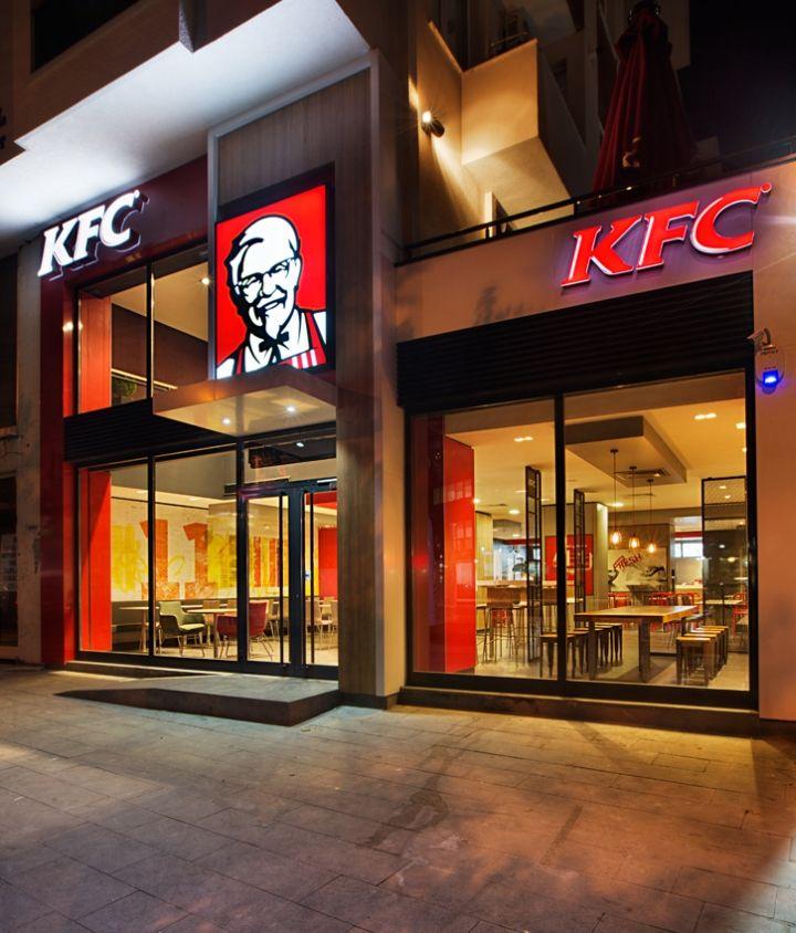 Kfc Restaurant By Cbte Mimarlik Turkey 187 Retail Design