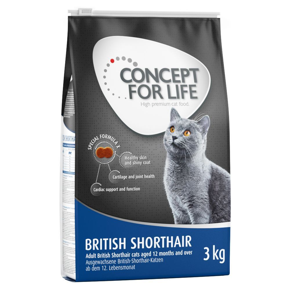 Animalerie Concept For Life British Shorthair Adult Pour Chat
