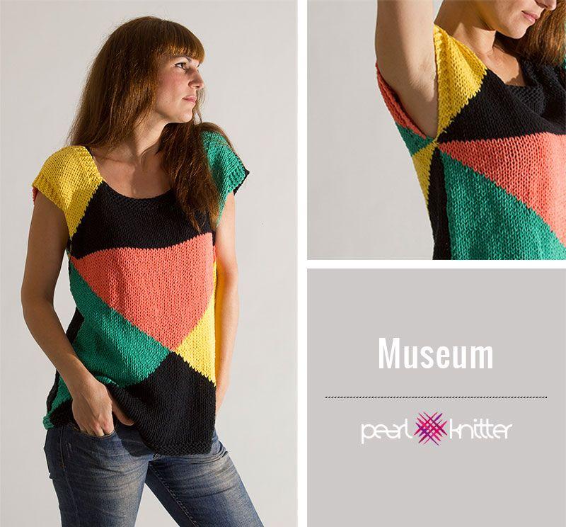 Qué prendas tejer con algodón | knitting | Pinterest | Patrones de ...