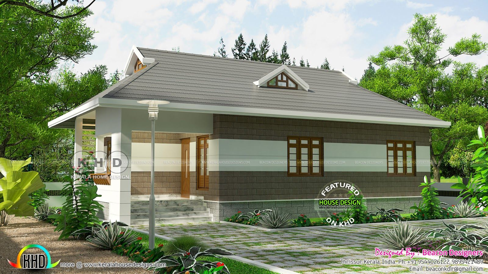 Low Cost House Plans In Kerala Style in 2020 (With images ...
