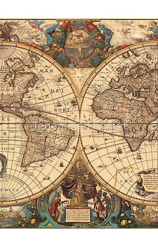 Antique World Map Puzzle.Ancient World Case Skin For Samsung Galaxy By Legemmedihemet Old