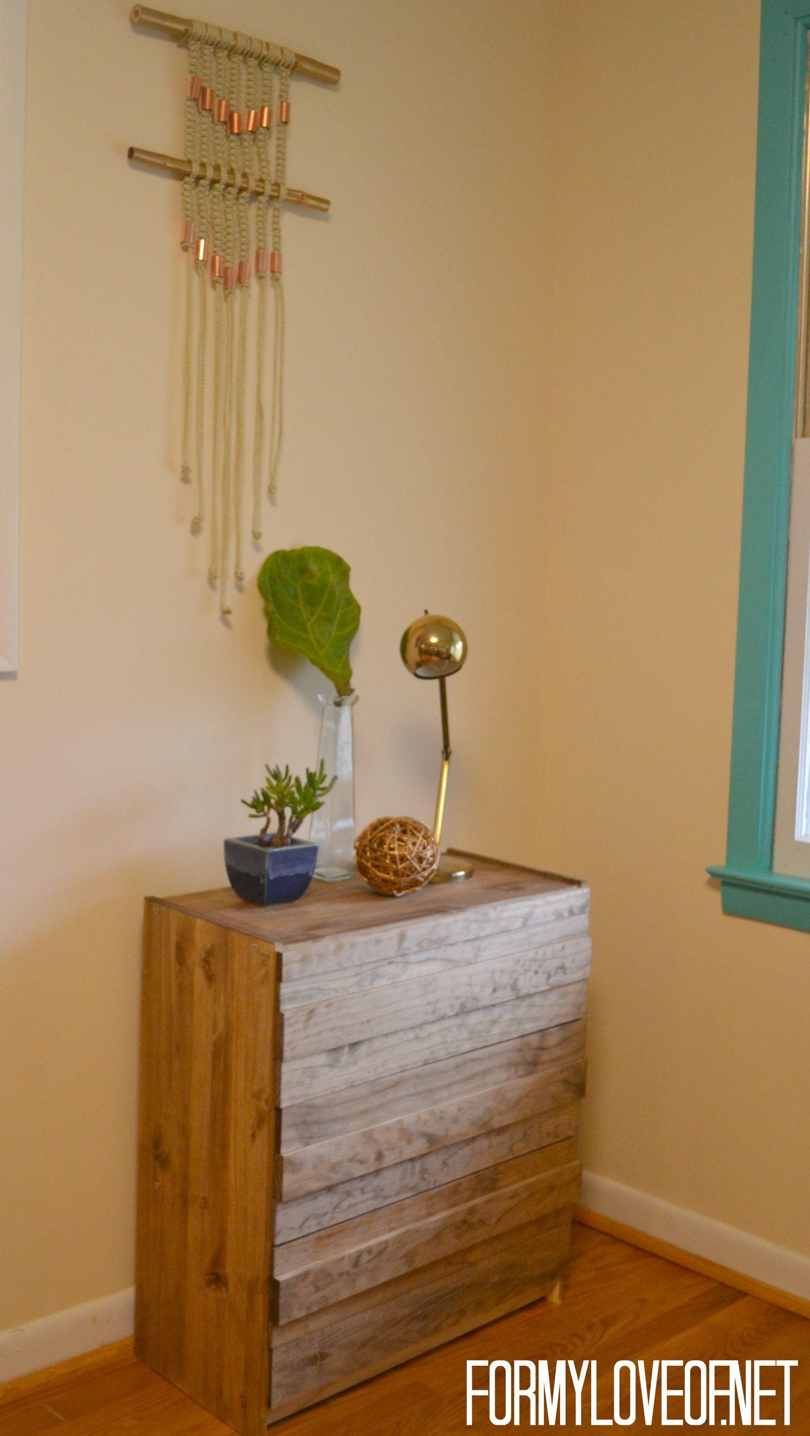 diy furniture west elm knock. West Elm Stria 3 Drawer Dresser Knock Off Full View ForMyLoveOf.net Diy Furniture