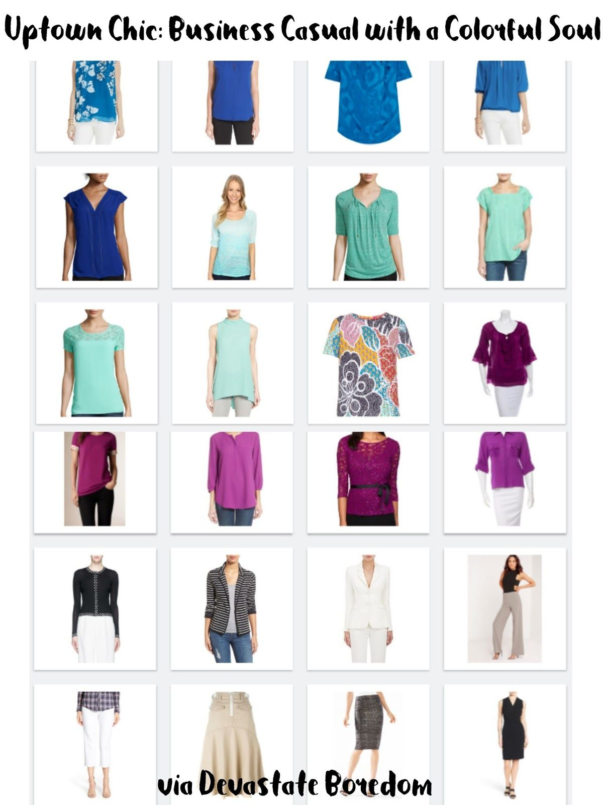 Business Casual Capsule Wardrobe Inspiration  Sample Minimalist Closet