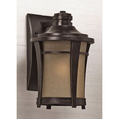 Quoizel Harmony HY8409IB Outdoor Wall Lantern - HY8409IB, QUO283-1