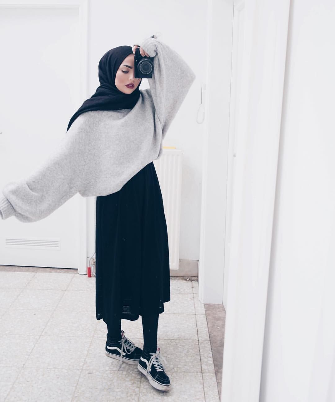 On instagram hijab style inspiration casual hijab styles pinterest inspiration Fashion style hijab terkini