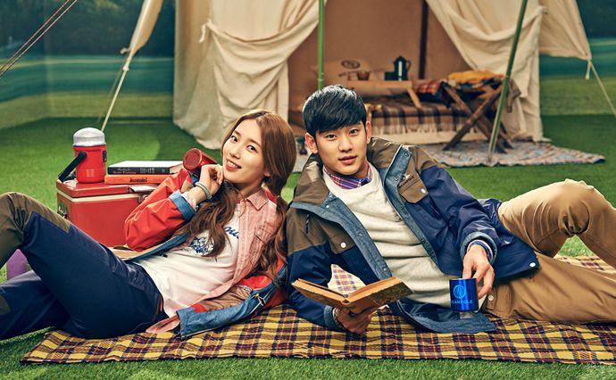 Kim Soo Hyun Amp Suzy S Adventurous Date Indoors For Beanpole Outdoor S Spring 2014 Lookbook Couch Kimchi Kim Soo Hyun Suzy Miss A Suzy