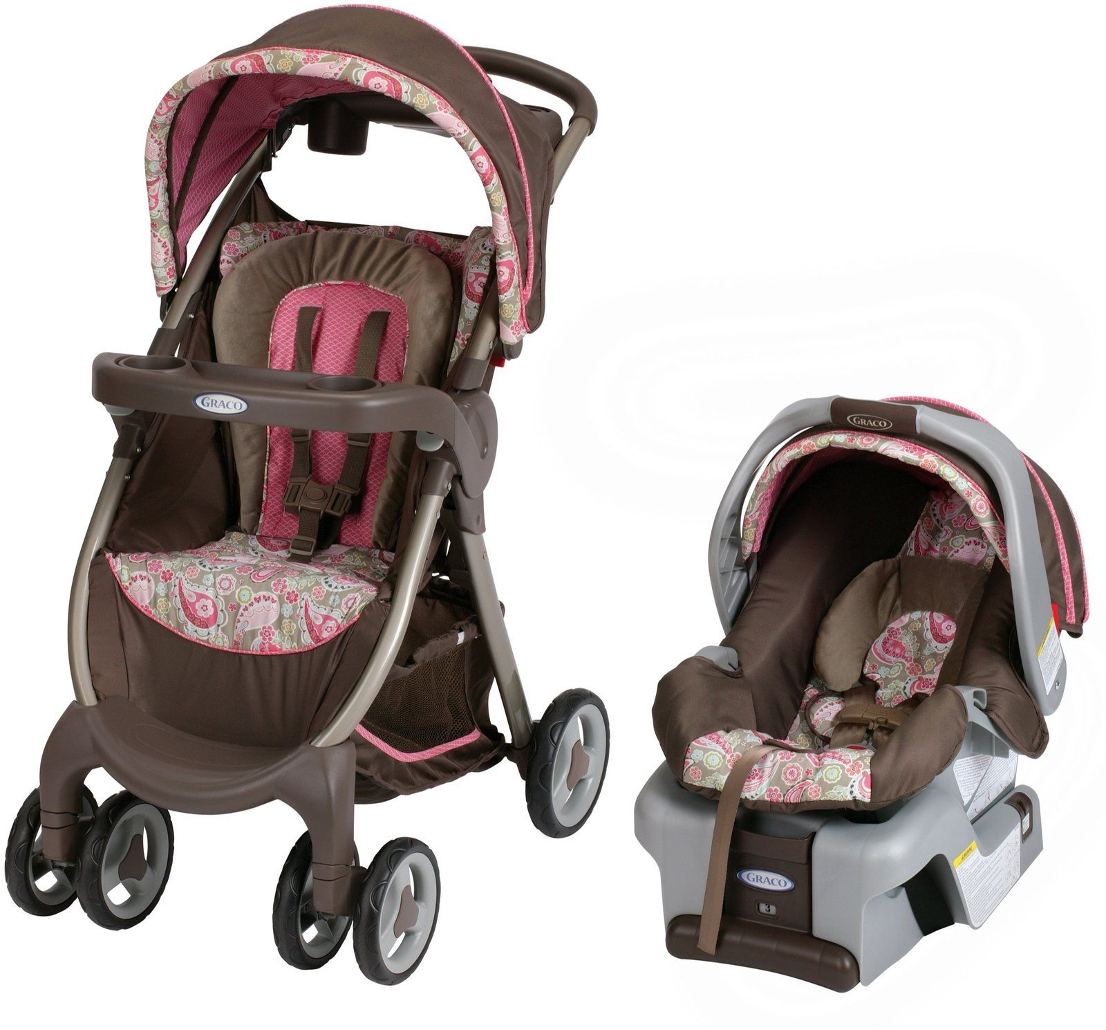 "Graco Fast Action Travel System ""Jacqueline""... super"