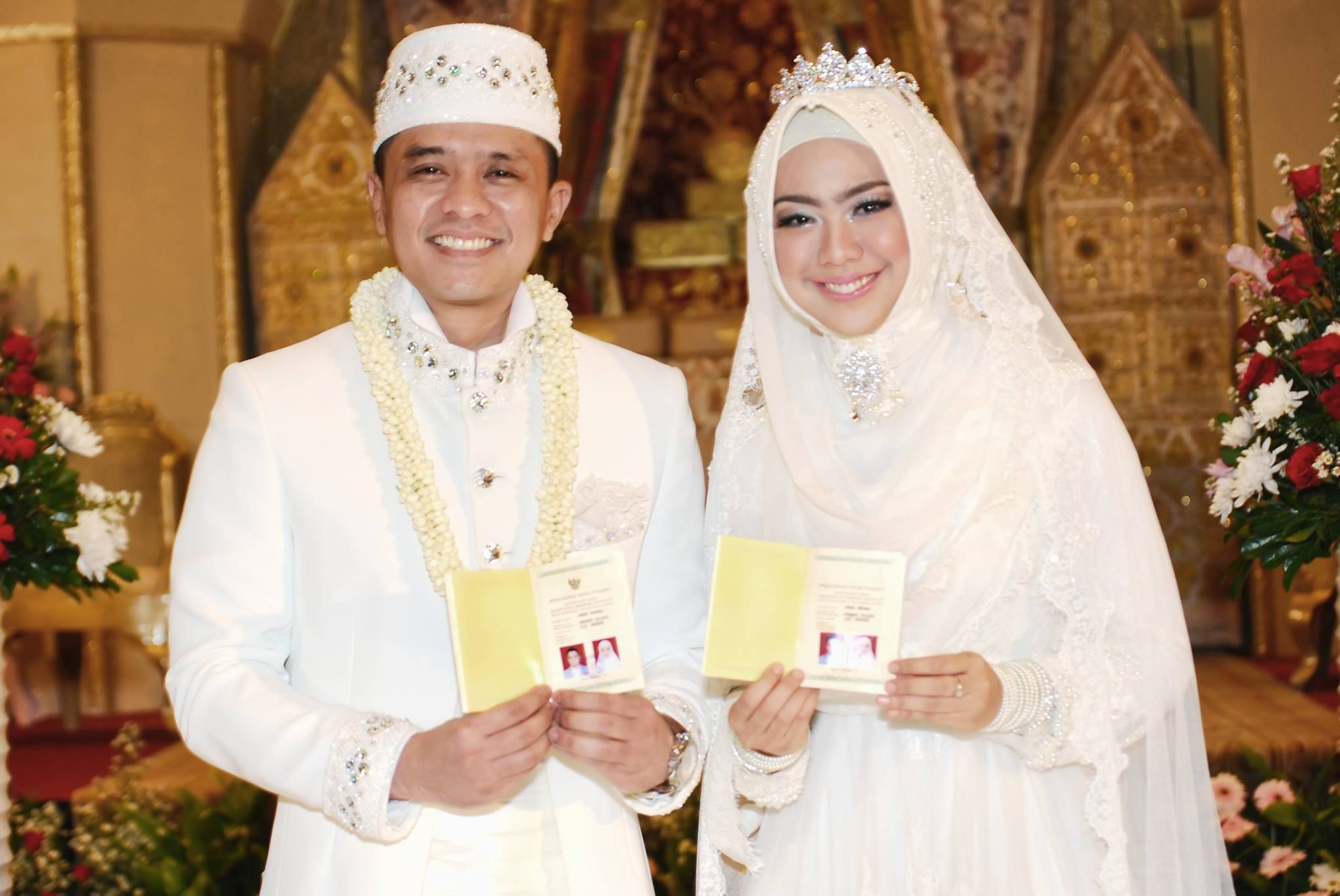Indonesia, islamic wedding Muslim wedding dresses