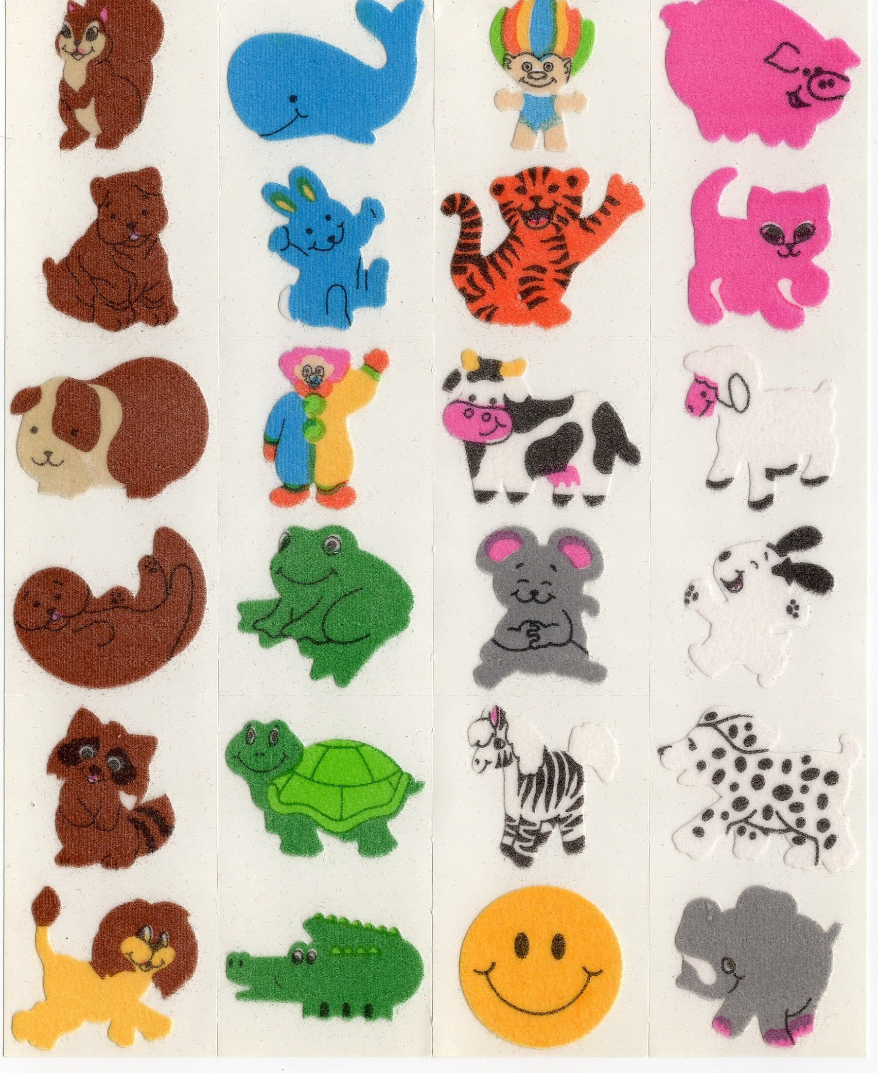 SandyLion sticker sección 80er 90er Fuzzy esqueleto sticker album cromos