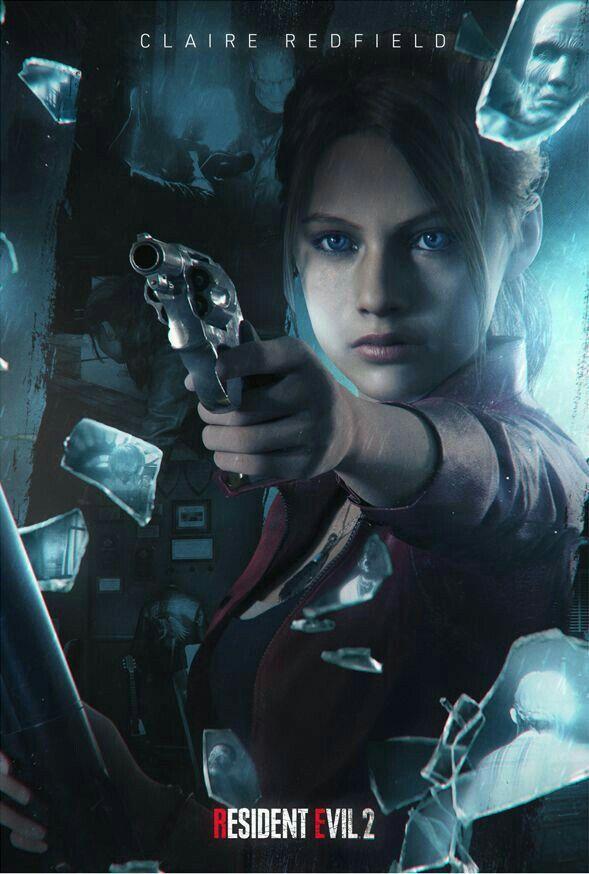 Pin De Erik Hendriksen Em Resident Evil Personagens De Games