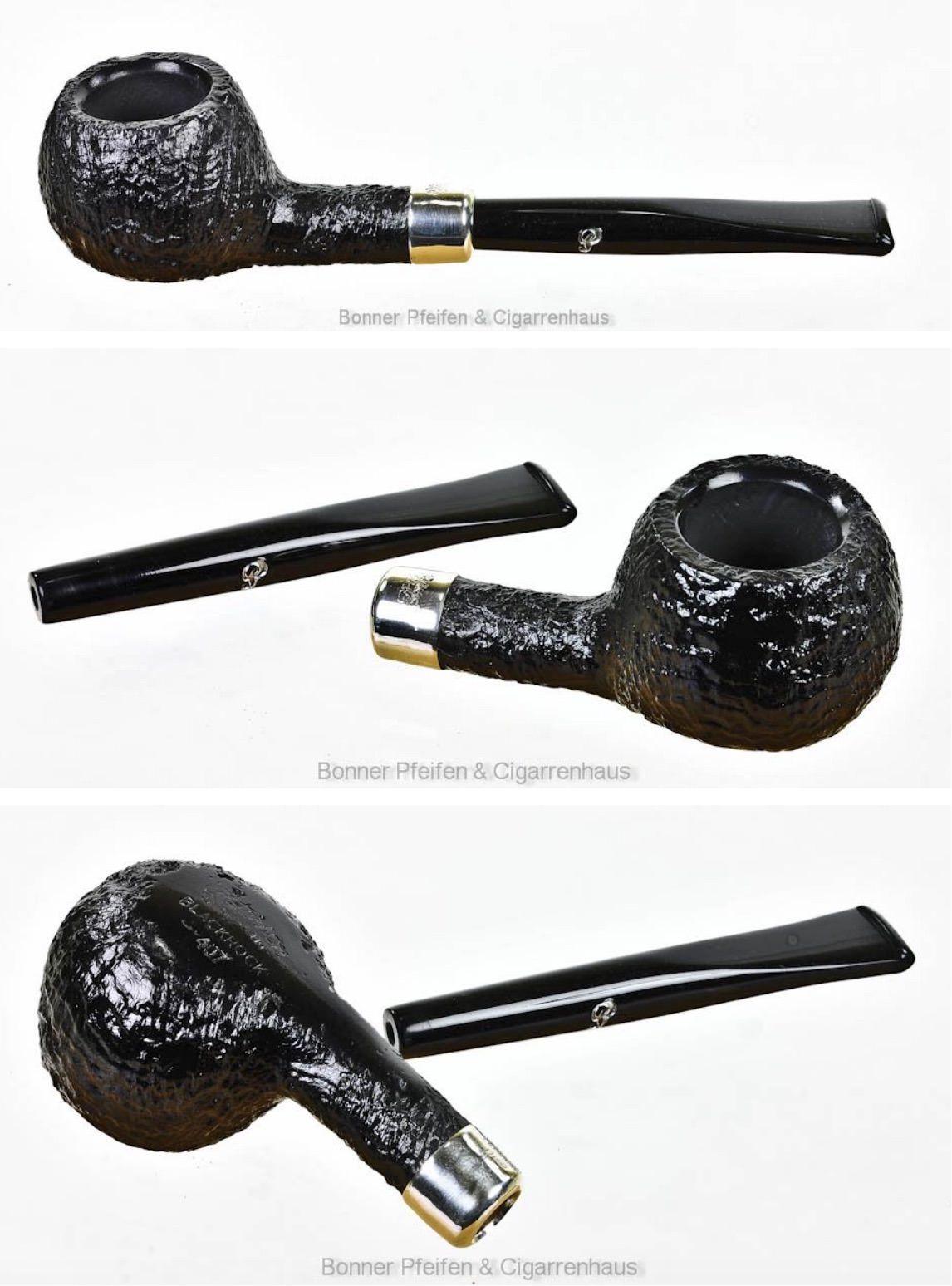 Peterson - Blackrock -  ohne Filter Gewicht : 25 g Länge : 13,5 cm Höhe : 3,1 cm Breite : 3,7 cm Bohrung : 2 cm x 2,6 cm Mundstück : Acryl
