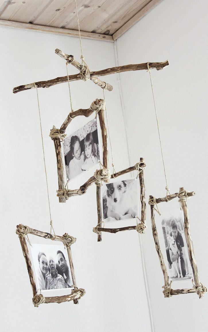 DIY rustikales Fotomobil, Tamara NP  – DIY Inspiration – Ideen zum Selbermachen