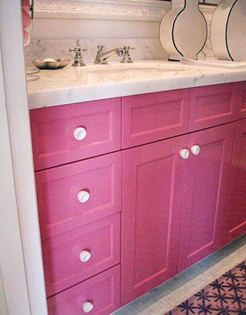25 Inspiring and Colorful Bathroom Vanities Carrara marble, White