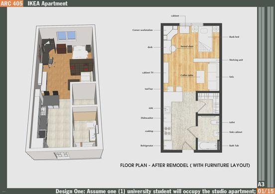 200 Sq Ft Studio Apartment Ideas New Tiny