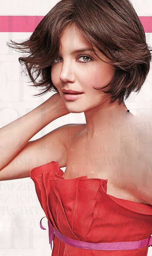 8.katie holmes short hairstyles | styling kurzes haar