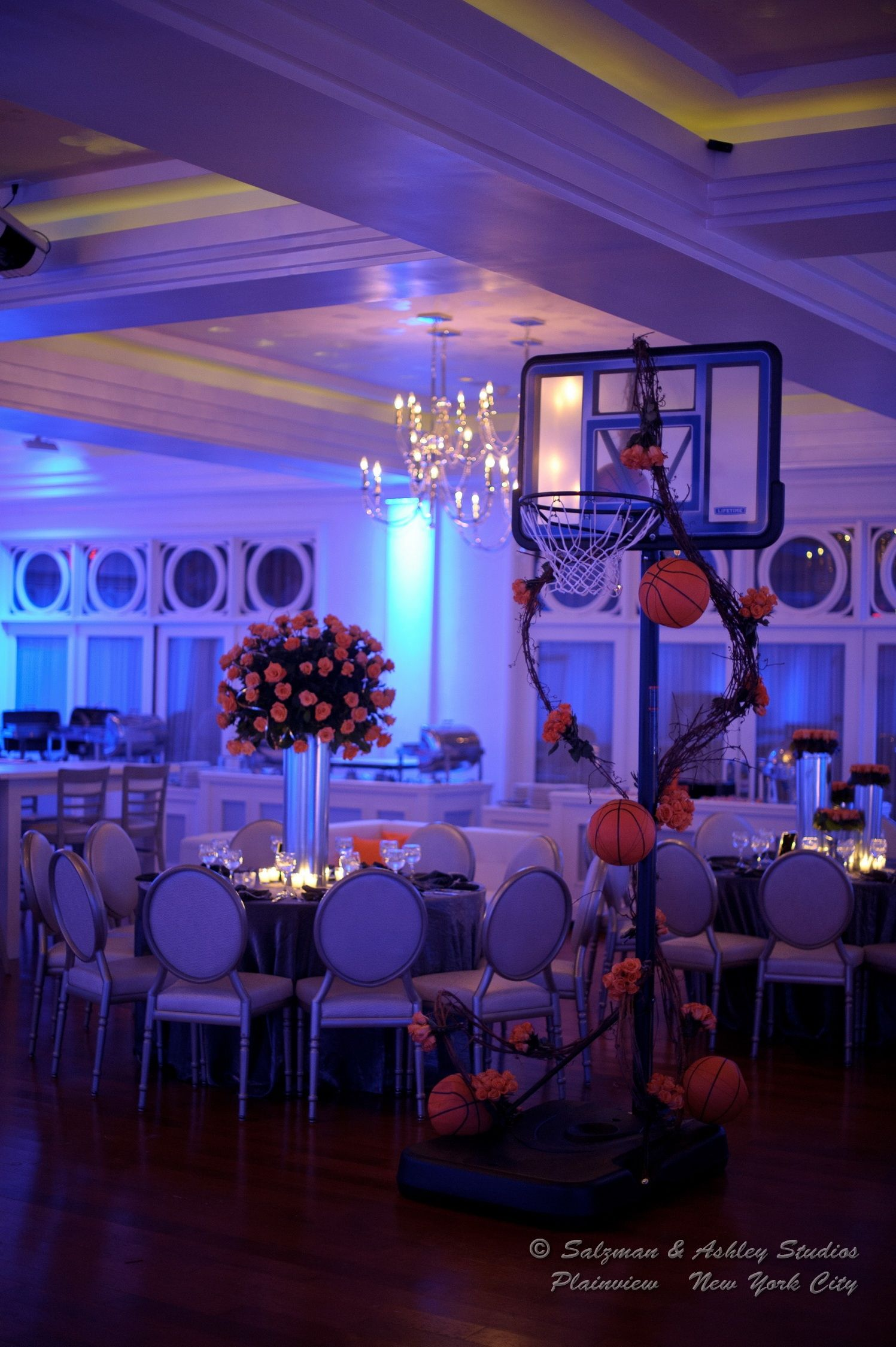 Basketball Theme Bar Mitzvahs Pinterest Basketball