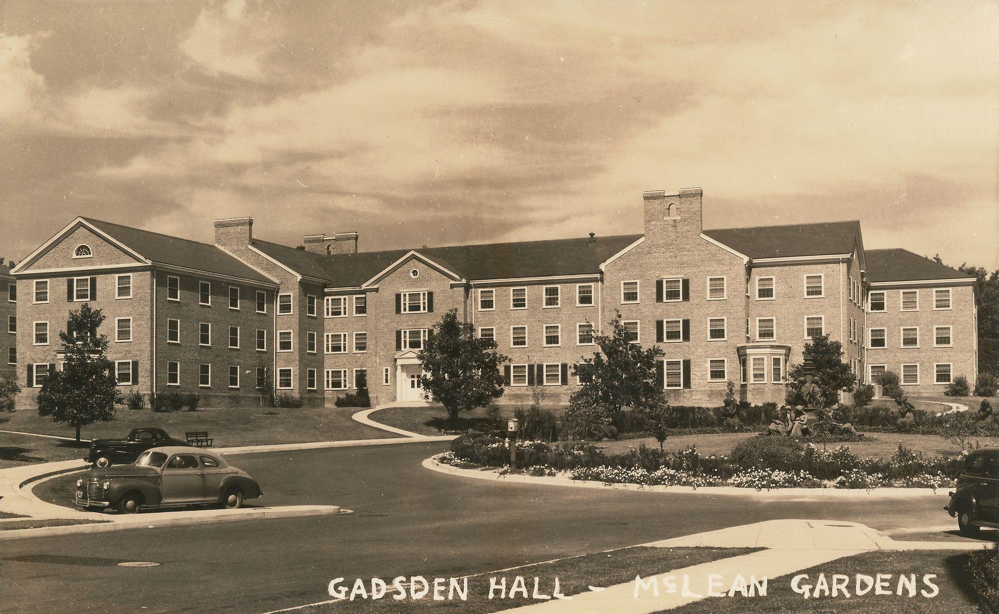 McLean Gardens (c. 1950) | Historic Washington DC postcards ...