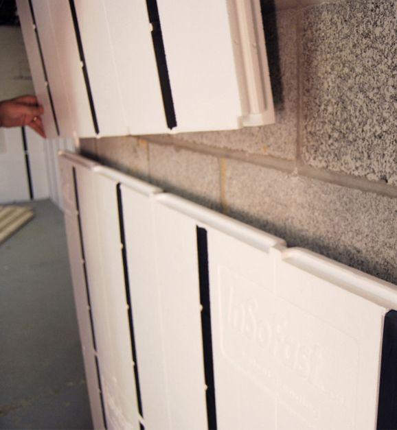 Ux 2 0 Insulation Panel Finishing Basement Finishing Basement Walls Basement Makeover