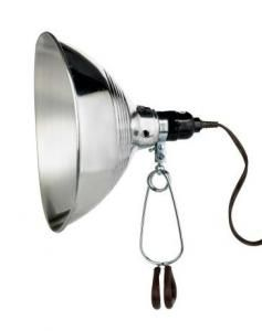 Designers Edge 8.5 In. Incandescent Clamp Light : Remodelista $9 Home Depot