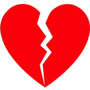 Download Hd Broken Black Heart Emoji Broken Heart Icon Png Clipart And Use The Free Clipart For Your Creative Proje Black Heart Emoji Heart Emoji Heart Icons