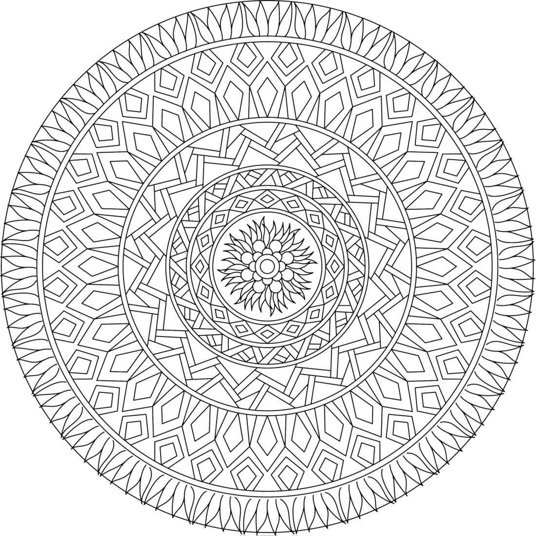 Picture Of Garden Window Coloring Page