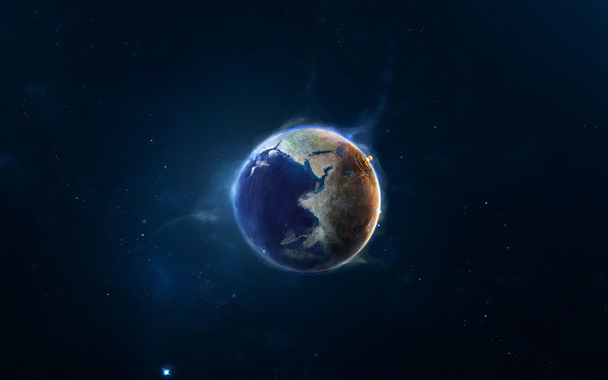 earth space planet wallpaper