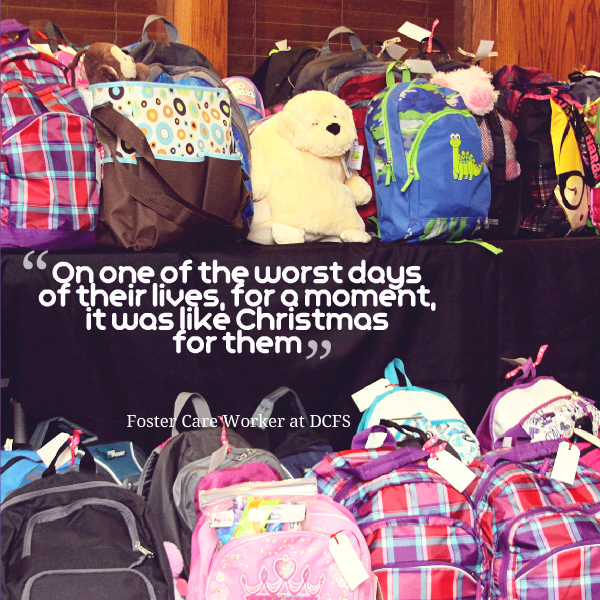 e43fc0d5c163 This is the power of a journey bag for foster children through The  Forgotten Initiative.