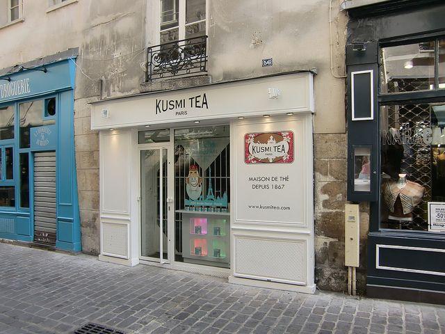 kusmi tea, rue des rosiers, paris
