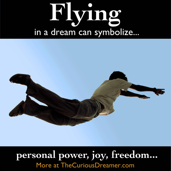 Dreaming That You Are Flying Can Symbolize More At