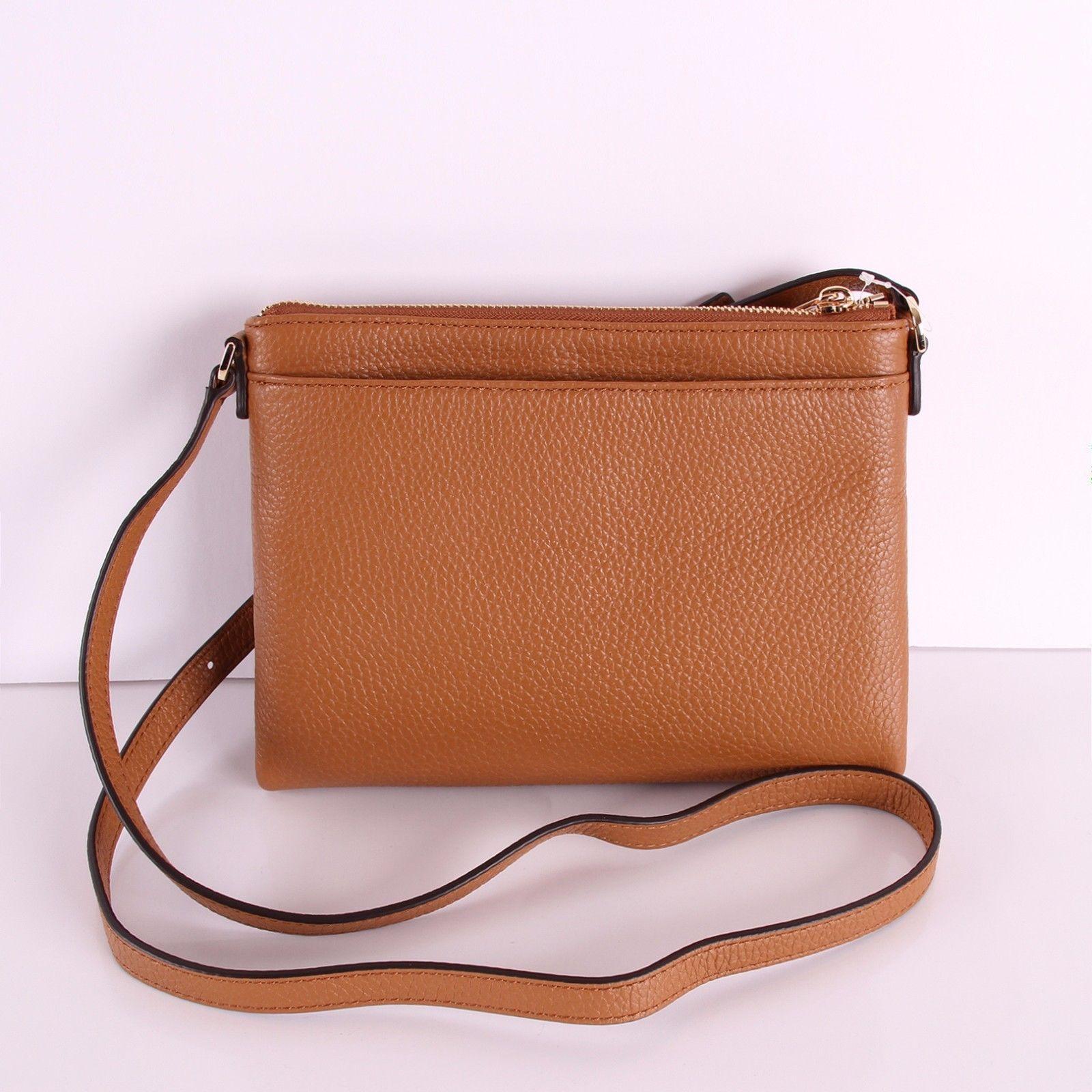 983f464b8ad6 ... france nwt michael kors leather or signature pvc fulton ew crossbody  bag handbag 98.99 ecfa9 ea844