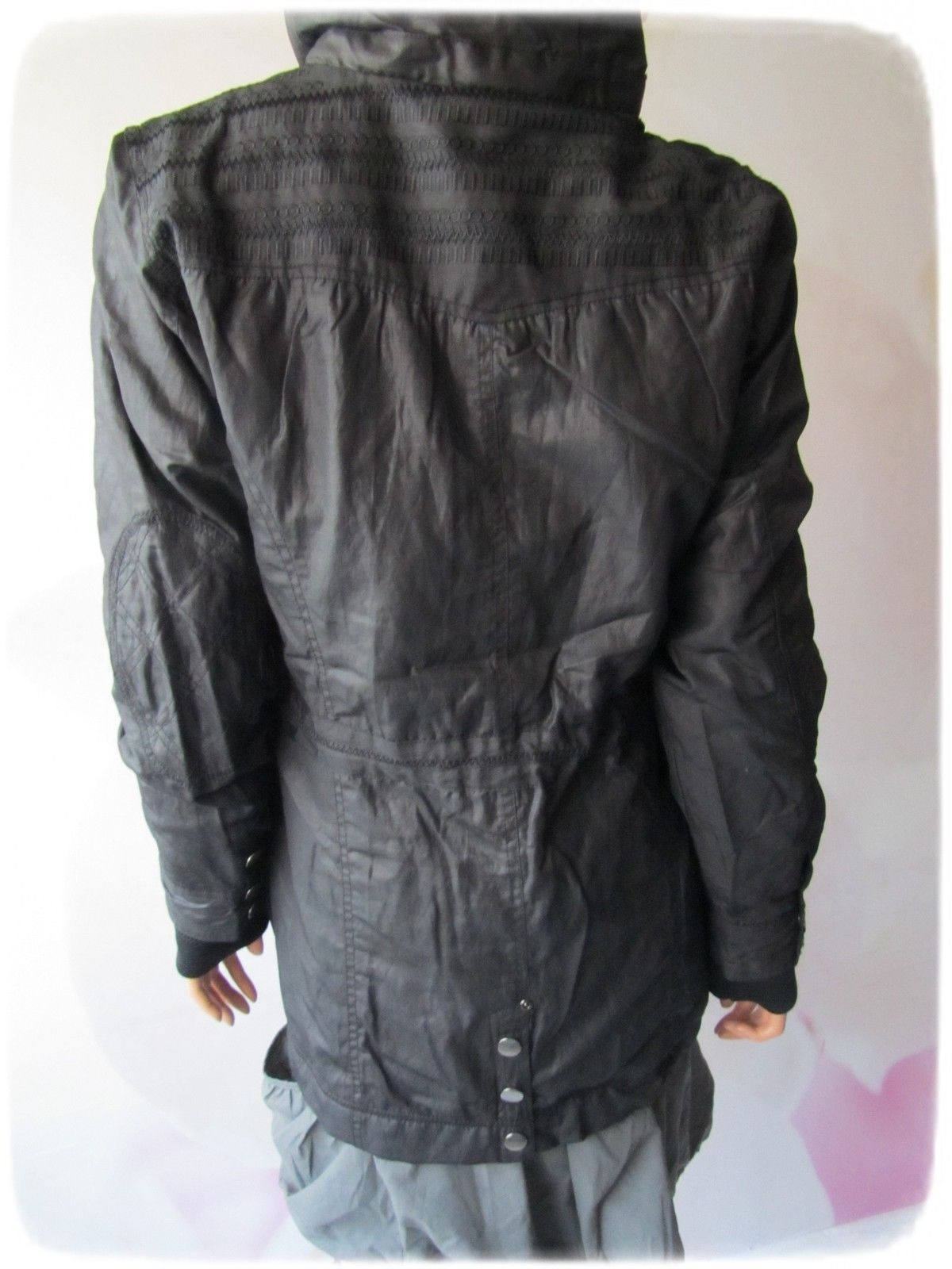 nü by Staff schöne Kapuzen-Jacke-, black, Gr. M, NEU!!! | eBay