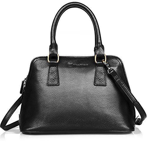 ee35960484ab Girls Satchel Top-handle Bag Handbag Shoulder Bag Women Genuine Leather Tote  Purse YKK Zipper  beach