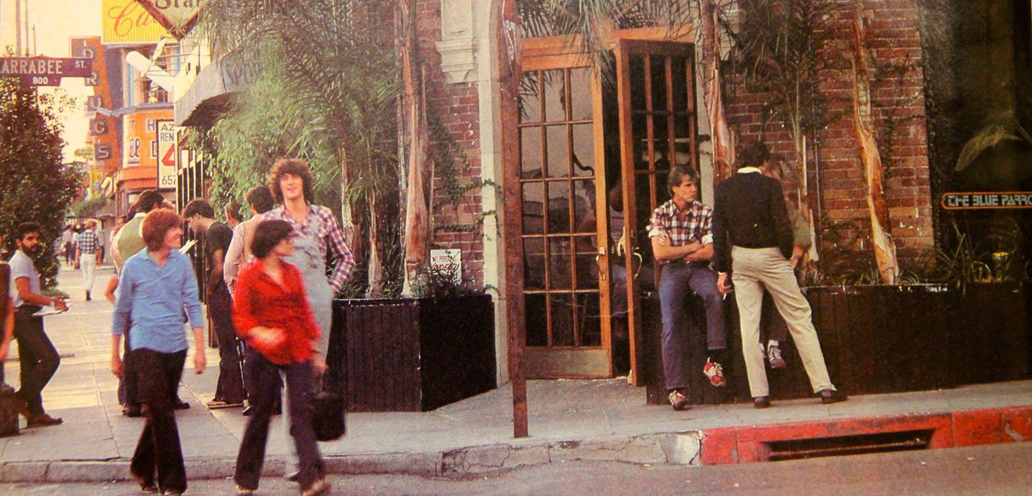 Outside the Blue Parrot  1981