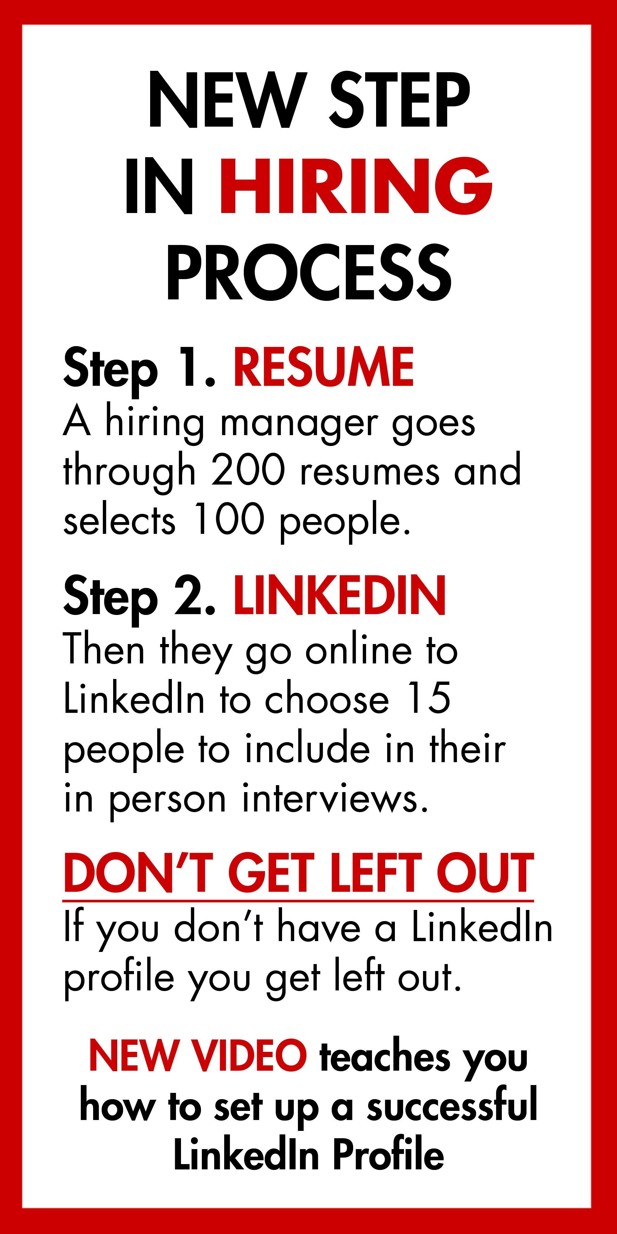 """How to Create a Successful LinkedIn Profile"" video has"