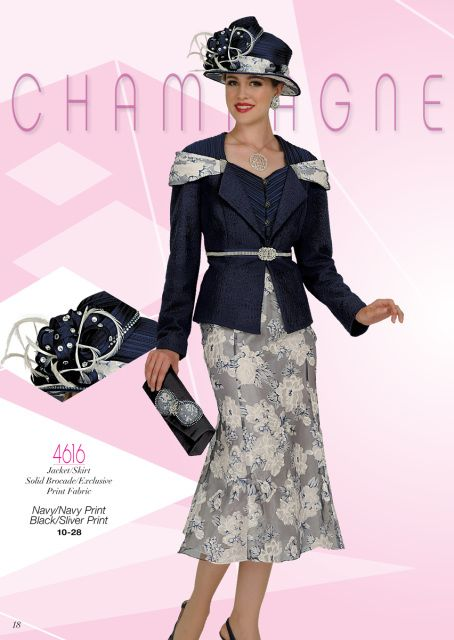 Champagne Italy Church Suits 2015 Womens Church Suits With