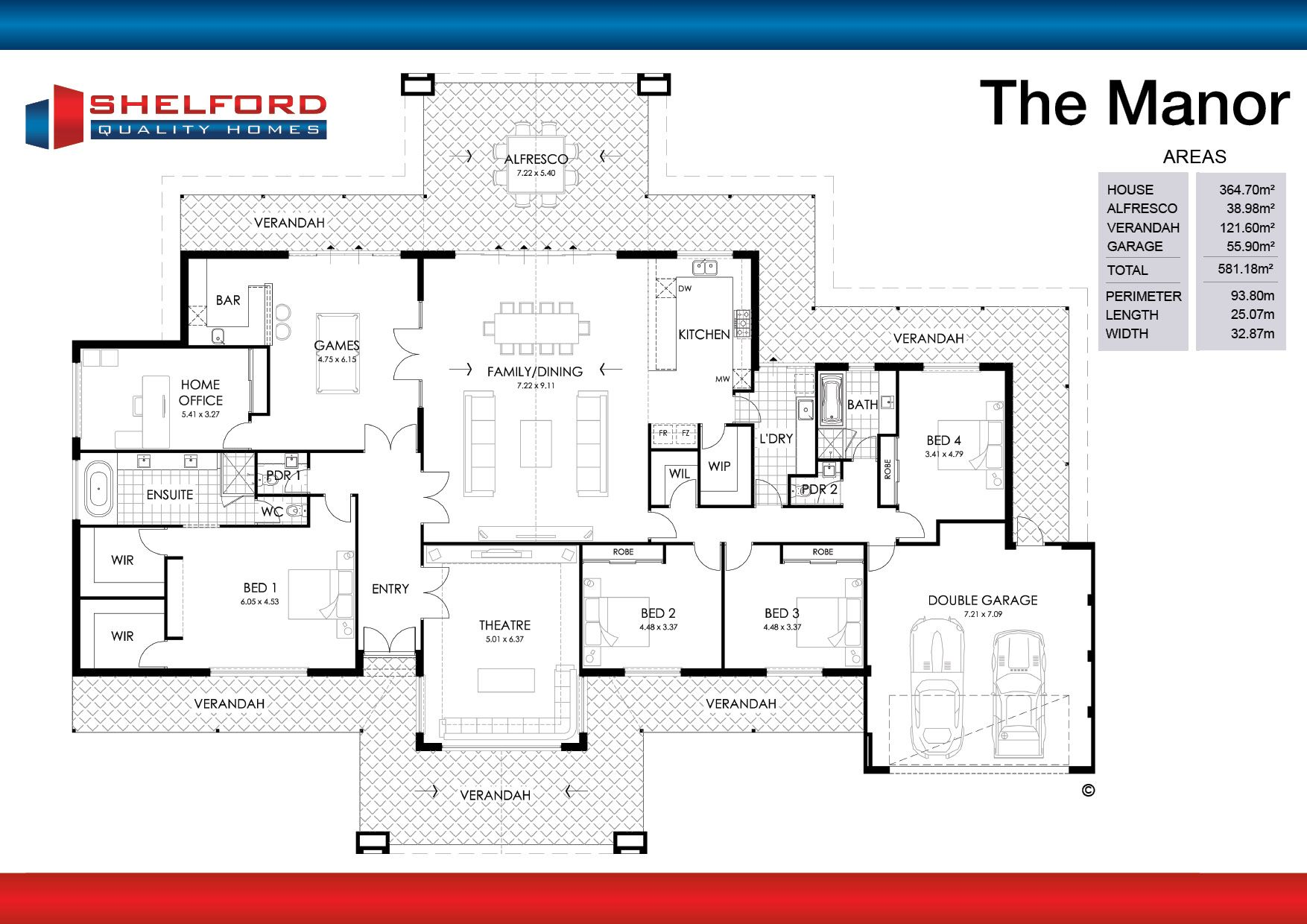 The Manor Web Plan Jpg 1754 1240 Floor Plans House Design Home Design Floor Plans